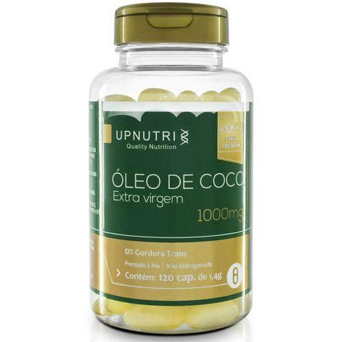 Óleo de Coco Extra Virgem (120 Cápsulas) Upnutri
