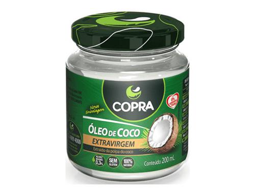 Óleo de Coco Extra Virgem Copra 200 Ml