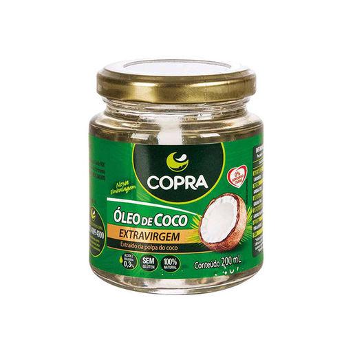 Óleo de Coco Extra-virgem Copra 200ml