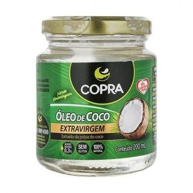 Óleo de Coco Extravirgem Copra 200Ml