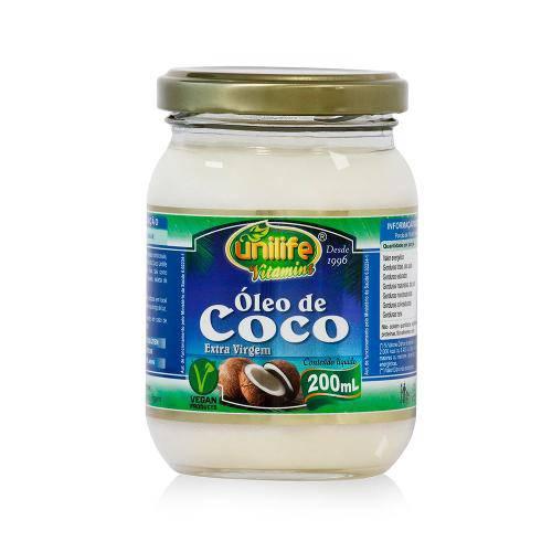 Óleo de Côco Natural 200ml