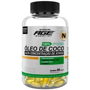 Óleo de Coco Nutrilatina - 60 Cápsulas