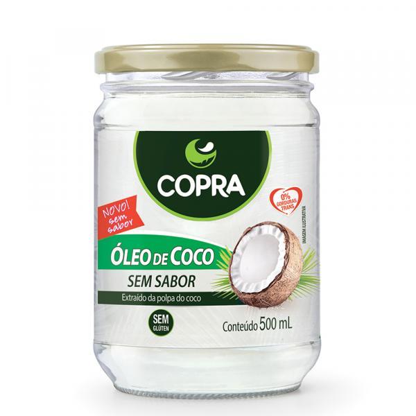 Óleo de Coco S/ Sabor 500ml - Copra