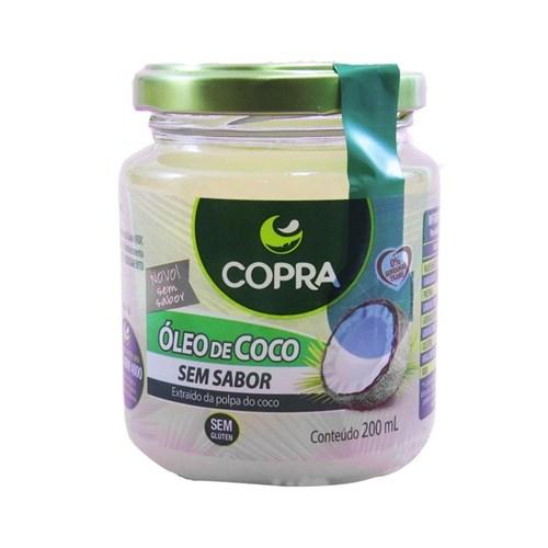 Óleo de Coco S/ Sabor Copra - 200Ml