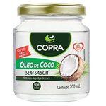 Óleo de Coco Sem Sabor 200ml - Copra - 12 Unidades