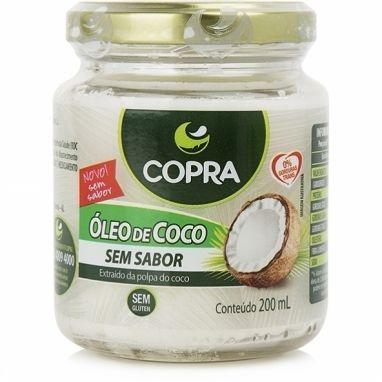 Óleo de Coco Sem Sabor 200ml – Copra