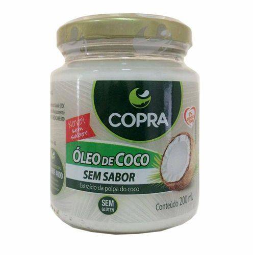 Tudo sobre 'Oleo de Coco Sem Sabor 200ml Copra'