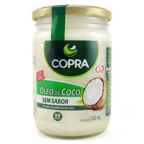 Óleo de Coco Sem Sabor 500 Ml Copra
