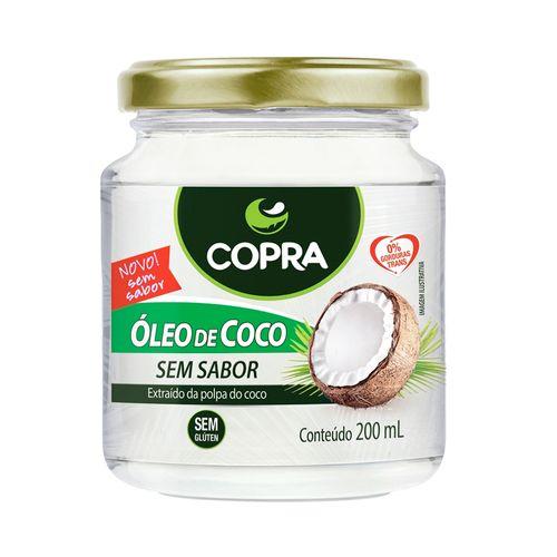 Óleo de Coco Sem Sabor - Copra - 200ml
