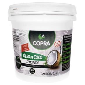 Óleo de Coco Sem Sabor Copra - 3,2L