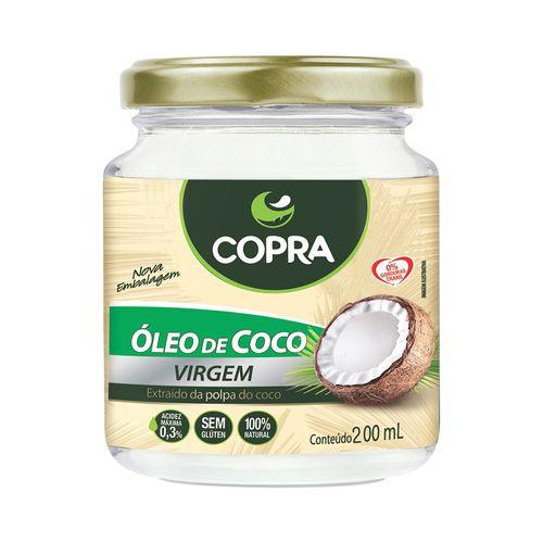Óleo de Coco Virgem - Copra - 200ml