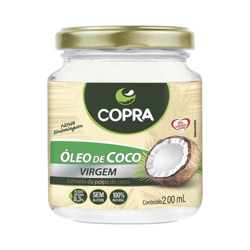 Óleo de Coco Virgem Copra 200ml