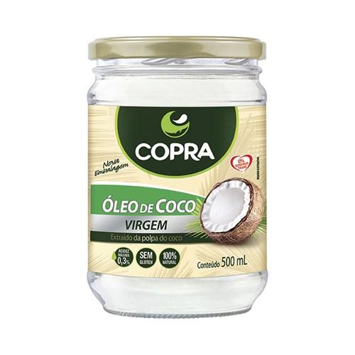 Óleo de Coco Virgem - Copra - 500Ml