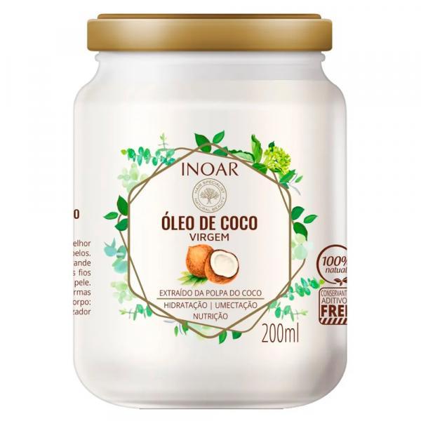 Óleo de Coco Virgem Inoar 200ml