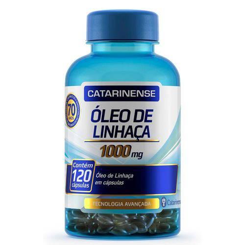 Óleo de Linhaça - 120 Cápsulas - Catarinense