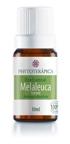 Óleo Essencial de Melaleuca (Tea Tree) Phytoterápica - 10Ml (Melaleuca, Frasco, Todas)