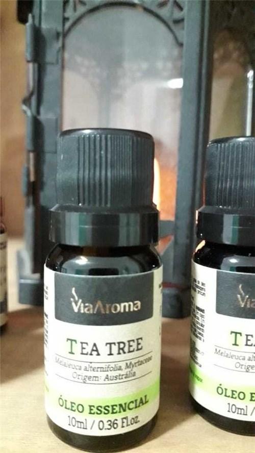 Óleo Essencial de Tea Tree (Melaleuca Alternifolia, Myrtaceae)