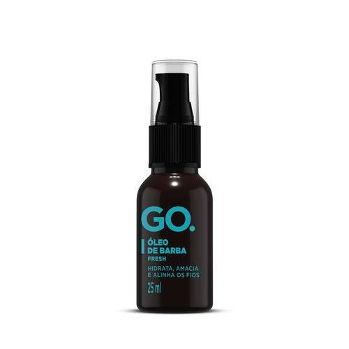 Óleo Hidratante para Barba Fresh 25ml Go.