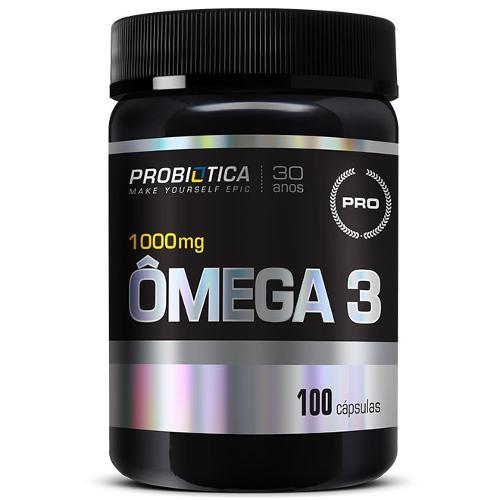 Omega 3 1000mg 100 Cápsulas - Probiótica