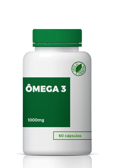 Omega 3 1000mg 60 Cápsulas