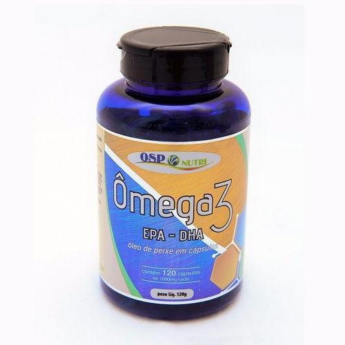 Omega 3 1000mg com 120 Cápsulas Osp Nutri
