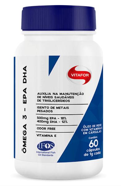 Ômega 3 - EPA DHA - 60 Cap