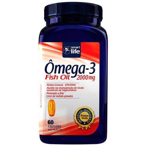Ômega 3 Fish Oil 2000mg 60 Cápsulas Epa/ Dha Smart Life
