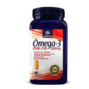 Ômega-3 - Fish Oil 200Mg - 60 Cápsula - Naturelab