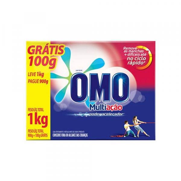 Omo Multiação Detergente em Pó 1kg