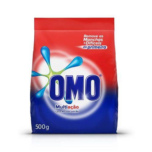 Omo Multiação Detergente em Pó 500g