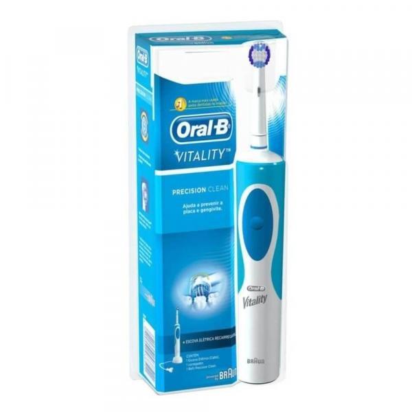 Tudo sobre 'Oral B Vitality Escova Dental Elétrica 110v'