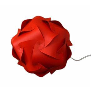 Orbit Vermelha Piso Grande (45 Cm Diâmetro)