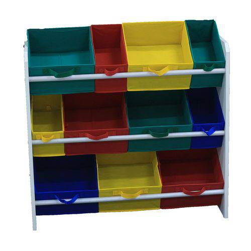 Tudo sobre 'Organizador de Brinquedos Infantil Colorido'