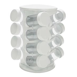 Porta Condimentos Mimo Style com 16 Peças - Branco