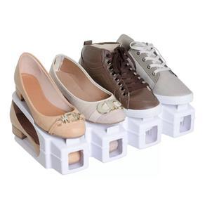 Organizadores de Sapatos Branco - Kit 20 Peças