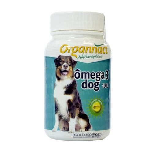 Tudo sobre 'Organnact Omega 3 Dog 1000 Mg'