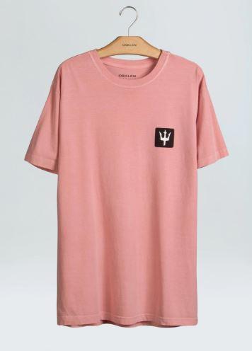Osklen | T-shirt Stone Tridente / G