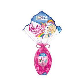 Tudo sobre 'Ovo de Páscoa Barbie 157g - Lacta'