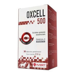 Tudo sobre 'Oxcell 500 30 Cápsulas'