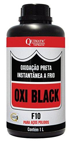 Oxi Black F10 Oxidação Preta Instantânea a Frio para Aços Polidos 1L-QUIMATIC-CB1