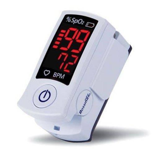 Tudo sobre 'Oxímetro de Pulso Portátil Monitor de Dedo Sb100 Rossmax'