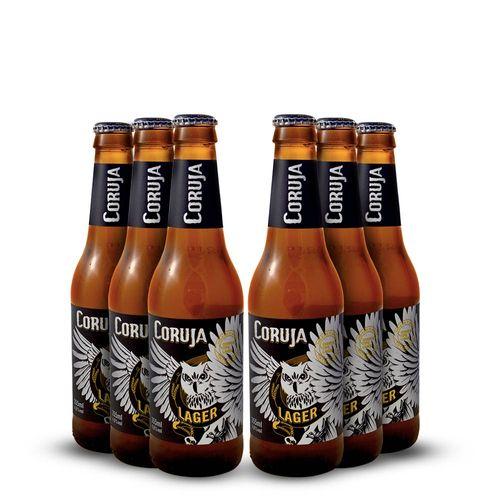 Tudo sobre 'Pack 6 Cerveja Artesanal Corujinha Lager - 330ml'