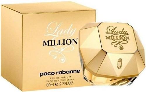 Paco Rabanne Lady Million Feminino - 80 Ml