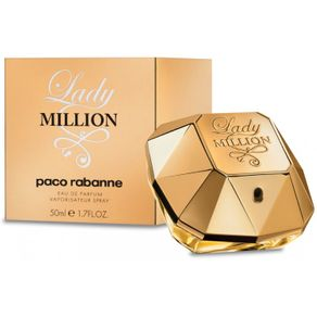 Paco Rabanne Million Lady Perfume Feminino (Eau de Parfum) 50ml