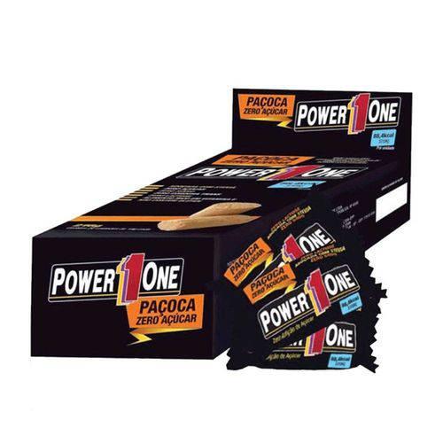 Tudo sobre 'Paçoca Rolha Power One Zero C/24 - Nut'