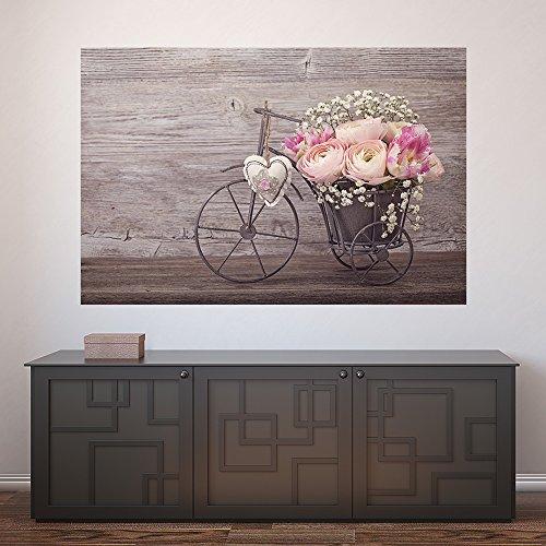 Painel Adesivo de Parede - Flores - 504pnp