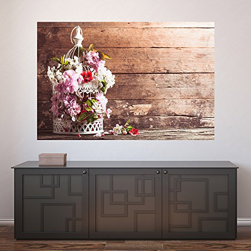 Painel Adesivo de Parede - Flores - 366pnm