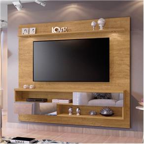 Painel Infinity para Tv com Espelho Damasco - 4726.120 Mavaular - MARROM