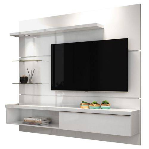Tudo sobre 'Painel para Tv Ores 1.8 Branco Hb Móveis'