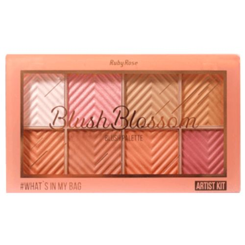 Paleta Blush Blossom Ruby Rose (HB6112)